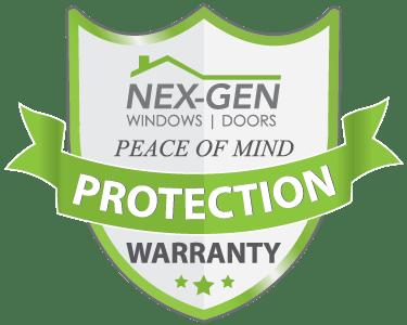Nex-Gen windows and doors peace of mind protection warranty window and door replacement